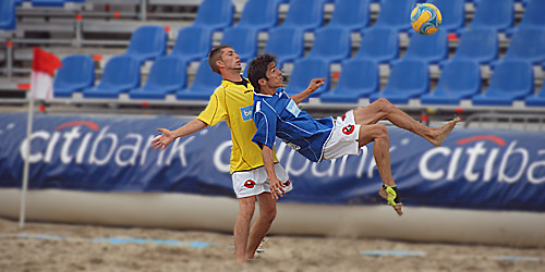 Beach Soccer Championship in Oostende