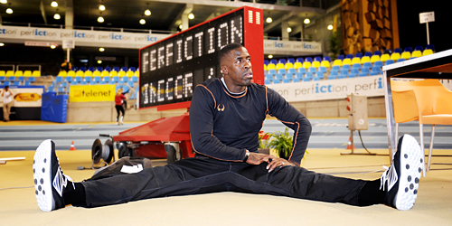 IFAM - Clinic Dwain Chambers Gent 2012