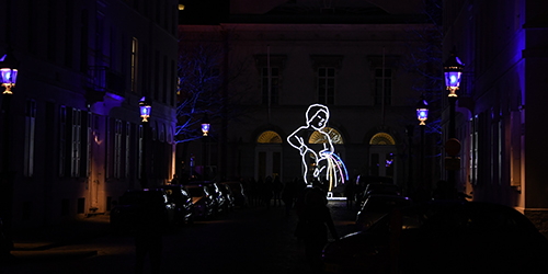 Bright - Brussels light festival 2018