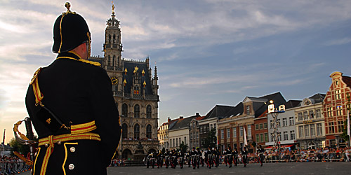 Internationale militaire taptoe Oudenaarde