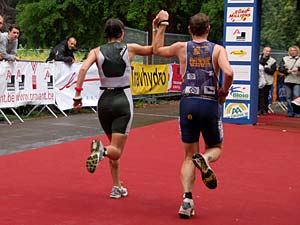 EK triatlon 2007 in Brasschaat.