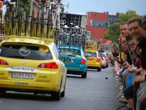 Tour de France 2007 aankomst Gent.