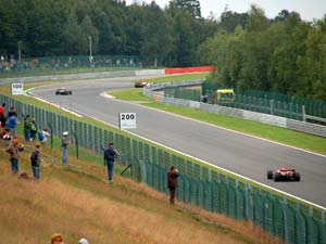 Les Combes in Spa-Francorchamps.