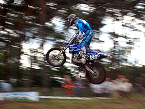 BK motocross Internationalen open klasse.