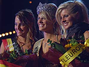 Finale Miss Belgian Beauty 2008.