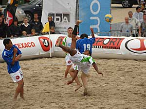 Beach Soccer Championship in Oostende 2008