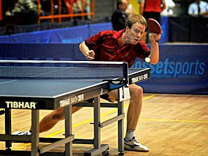 International Table Tennis Tournament TTC Drive in Oostende