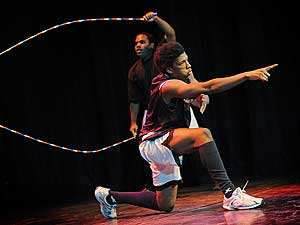 Double Dutch contest rope skipping Antwerpen