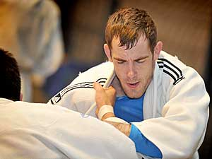 Training judoka's