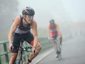 Triatlon en duatlon non-drafting in Damme 2014