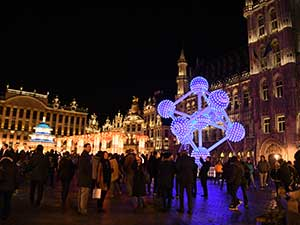 Brussels light festival 2018