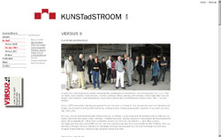 Screenshot www.kunstadstroom.be